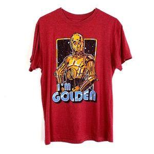 Star Wars C-3PO I'm Golden Vintage Styled T-Shirt